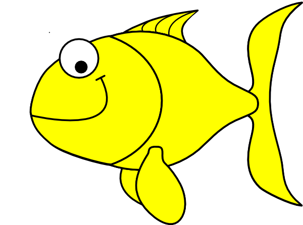 Yellow Fish Clipart - Free Clip Art Images