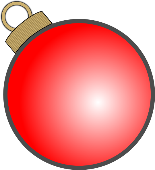 Christmas Ball Ornament Clip Art at Clker.com - vector ...