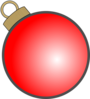 Christmas Ball Ornament Clip Art