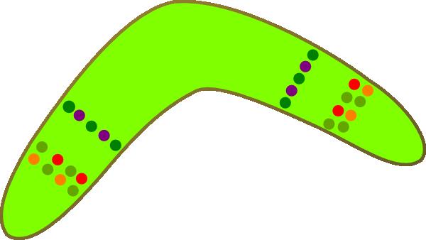 Australian boomerang clip art at vector clip for Australian boomerang template
