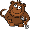 Monkey Wrench Clip Art