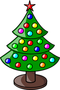 Christmas Tree 2011 Clip Art