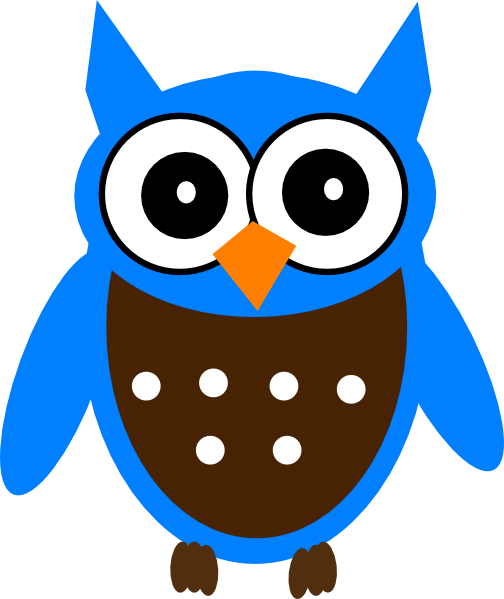 Gallery For gt Blue Owl Clipart