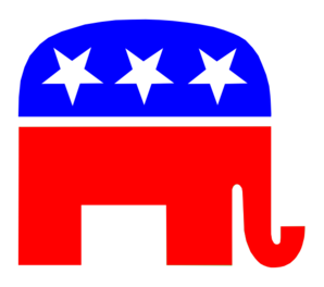 Republican Gop Party Elephant Clip Art