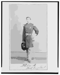 [brigadier General William G. Mank, Union Officer In The 32nd Indiana Regiment, Full-length Portrait, Standing, Facing Front]  / Alex Gardner, Photographer For The Army Of The Potomac. Clip Art