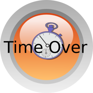 Time Over Clip Art
