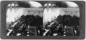 Parliament In Session, Oct. 7, 1919, Prague, Bohemia, Czechoslovakia Clip Art