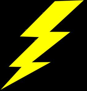 Lightning Bolt Transparent Clipart 1