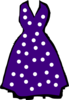 Polka Dot Dress Clip Art