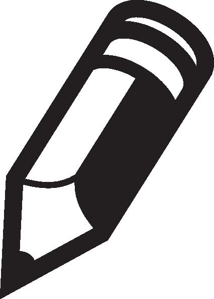 Pencil Icon Clip Art at Clker.com - vector clip art online ...