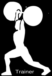 Olympic Weightlifting Clean&jerk Clip Art