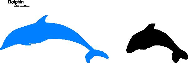 Blue Dolphin Clip Art at Clker.com - vector clip art ...