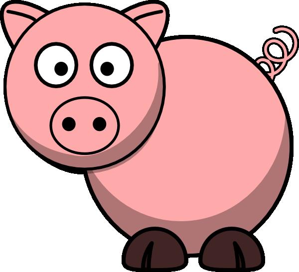 pig clip art at clker com vector clip art online royalty free rh clker com pig clipart cute pig clipart png