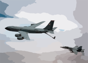 Air To Air Refueling Clip Art