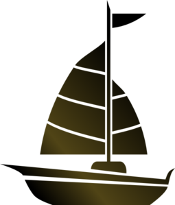 Simple Sailboat Clip Art