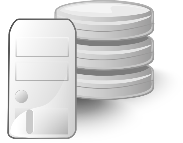 Server Database Clip Art at Clker.com - vector clip art ...