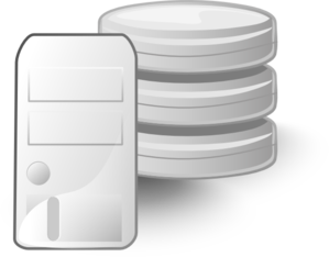 Server Database Clip Art