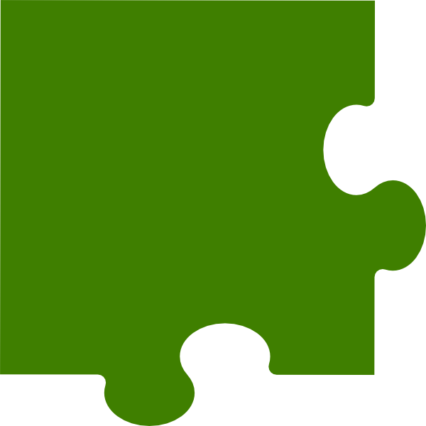 Corner Puzzle Piece Clip Art at Clker.com - vector clip ...