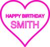 Smith Bday17 Clip Art