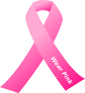 Breast Cancer Awareness Pink Ribbon Clip Art