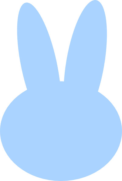 clipart image bunny silhouette - photo #41