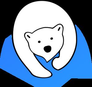 polar bear clip art at clker com vector clip art online royalty rh clker com  free cartoon polar bear clipart