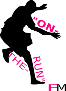 On The Run Fm Clip Art