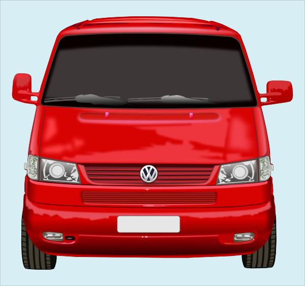 Red Front Of Car Clip Art at Clker.com - vector clip art