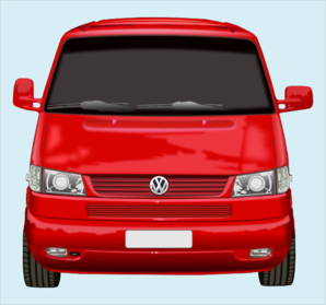 Red Front Of Car Clip Art