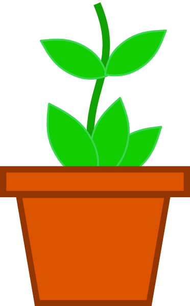 clipart flower in pot - photo #1