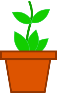 Pot Flower Clip Art