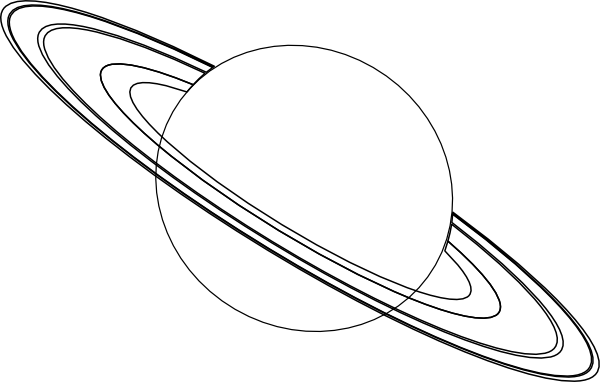 free planet saturn coloring pages - photo#13