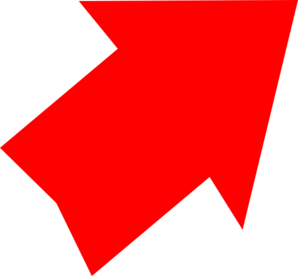 Red Arrow Up Right Clip Art