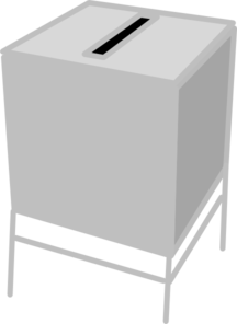 Voting Booth Clip Art