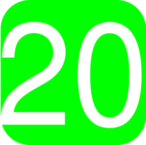 Http Background Pictures Picphotos Net Lime Green Rounded Square With Number 20 Hi Number 20