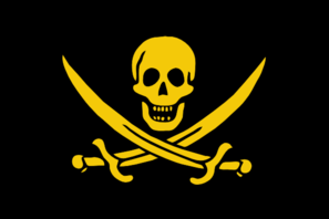 Pirates Of The Gold Coast Flag Clip Art