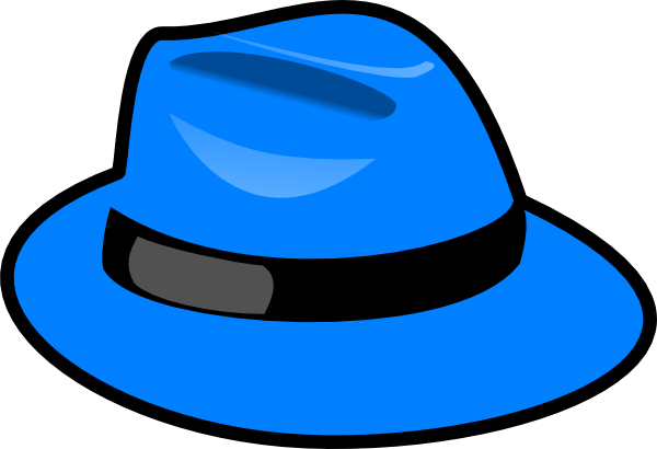 blue hat clip art at clker com vector clip art online royalty rh clker com hats clipart free hats clipart black and white