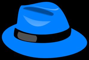 blue hat clip art at clker com vector clip art online royalty rh clker com clip art hats free clip art hat for tea party