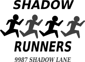Shadow Runners Clip Art