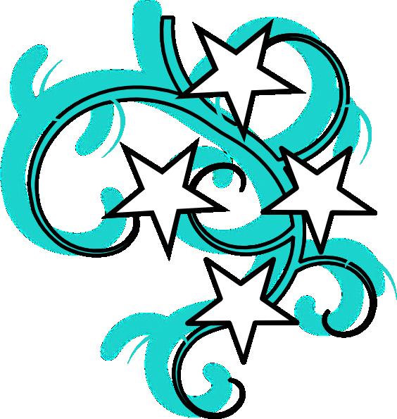 Tattoo Swirl Clip Art at Clker.com - vector clip art online, royalty ...