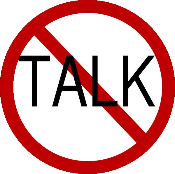 No Talk Clip Art at Clker.com - vector clip art online ...