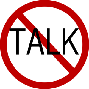 no talk clip art at clker com vector clip art online royalty free rh clker com don't talk clipart let's talk clipart