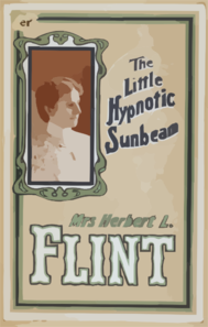 Mrs. Herbert L. Flint The Little Hypnotic Sunbeam. Clip Art