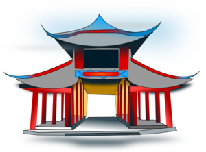 Chinese Architecure Clip Art