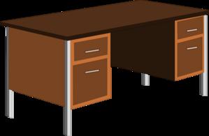office desk clip art at vector clip art online royalty free public domain. Black Bedroom Furniture Sets. Home Design Ideas