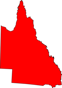 Red Queensland Clip Art