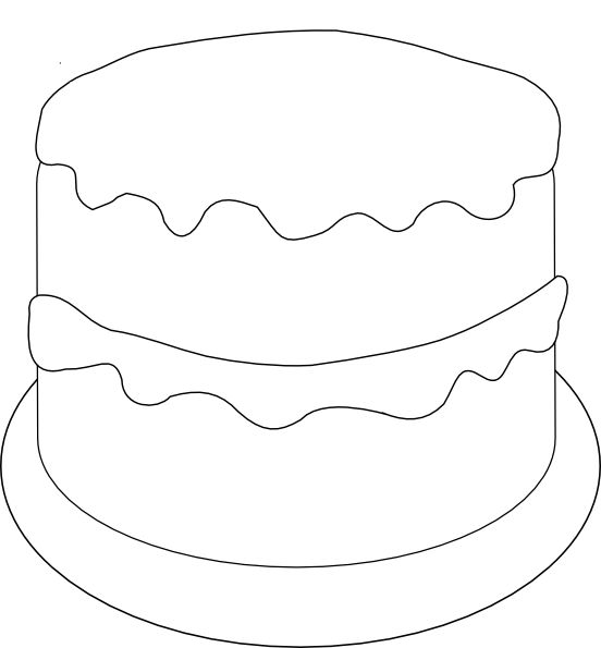 Birthday Cake Template New Calendar Template Site