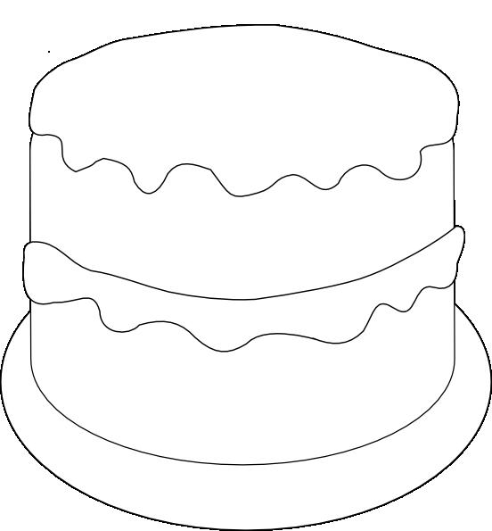 Cake Art Template : Birthday Cake Template New Calendar Template Site