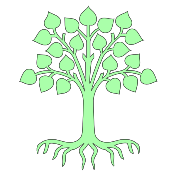 clipart family tree with roots - photo #32