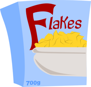 Cereal Flakes Clip Art